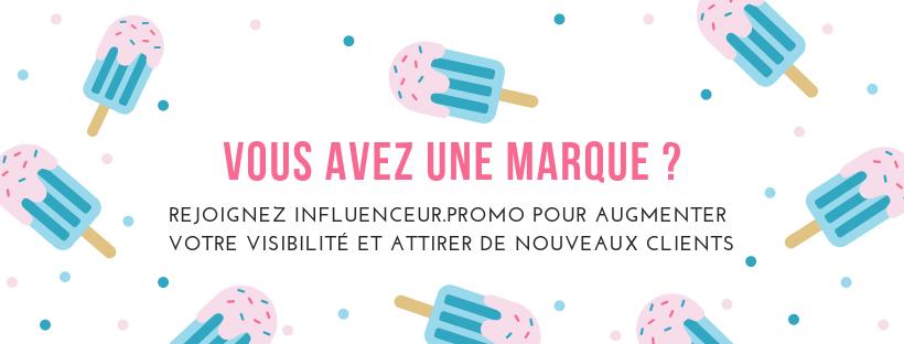 INFLUENCEUR PROMO marques