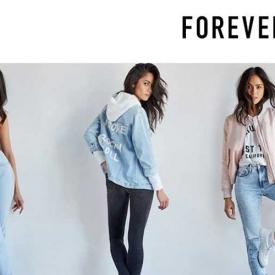 Code Promo Forever 21: Jusqu'à 60% de remise sur le site